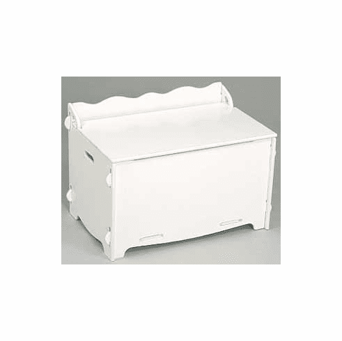 White Puzzle Toy Chest
