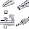 0.3mm Dual Action Airbrush Gun Kit Cake Nail Art Makeup Tattoo Spray Paint Tool