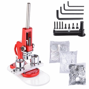 "1"" 1.25"" 2.28"" Button Maker Machine Badge Punch Press 1000 Parts Circle Cutter 32mm(1.25 inch)"