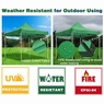 10'X10' Pop Up Canopy Tent Outdoor Event Instant Shade Shelter Commercial Gazebo