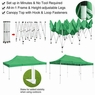 10'X20' Pop Up Canopy Tent Outdoor Event Instant Shade Shelter Commercial Gazebo