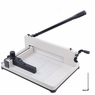 """12"""" Manual Paper Cutter Heavy Duty A4 Commercial 400 Sheets Book Trimmer Machine"""