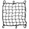 "15x15"" Motorcycle Cargo Net 6 Hook Bungee Stretch Luggage Storage Mesh Black"