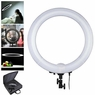 "19"" Fluorescent 75W Dimmable Ring Light Photo Video Studio Round Lighting 5500K"