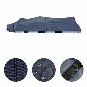 25-28ft Pontoon Boat Cover 600D Oxford Universal Trailerable UV Waterproof Blue