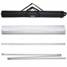 """33"""" x 79"""" Aluminum Retractable Roll Up Banner Stand Trade Show Display with Bag"""
