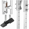 """36"""" - 50"""" Aluminum Drywall Stilts Adjustable for Painting Painter Taping Silver"""
