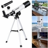 360x50mm Refractor Astronomical Telescope Eyepieces w/ Tripod for Kids Beginners