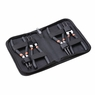 "6/7/9/13"" Portable Internal External Retaining Clip Snap Ring Circlip Pliers Set 6"" & Black"