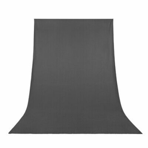 6x9Ft Gray Photo Backdrop Polyester Fabric Background Screen Photo Video Studio
