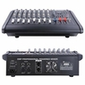 8 Channel Professional DJ Powered Mixer Power Mixing Amplifier USB Slot 16DSP