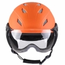 Adult Kid Snow Sports Helmet Ski Skateboard Protection w/ Goggles ASTM Certified For Adults & Orange