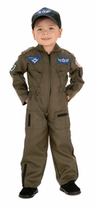 Air Force Fighter Pilot Chd Sm Costume