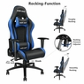 Anda Seat Racing Chair Gaming PVC Leather Recliner Adjustable Swivel High-back