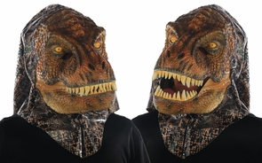 Animated Animal T Rex Mask Costume