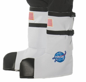 Astronaut Boot Tops Ad White Costume