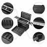 AW® PVC Makeup Train Case Baber Hair Salon Clipper Trimmer Storage Rolling Tool
