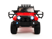 Magic Cars� Real Rubber Tires 4x4 Four Wheel Drive Big Wheel Jeep Style Remote Control Electric Ride On Truck For Kids W/Warranty