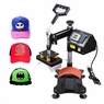 Cap Hat Heat Press Machine Transfer Digital LED Display Clamshell Sublimation