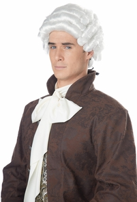 Colonial Man Wig Adult Costume