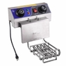 Commercial Electric Deep Fryer French Fry Bar Restaurant Tank w/ Basket 23.4L Upgraded