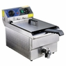 Deep Fryer w/ Drain Timer 11.7L Commercial Electric Stainless Steel Restaurant