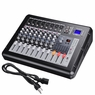 DJ Studio Power Mixer Amplifier 16DSP LCD Recording USB Slot 4 6 8 10 Channel Type 2: 8 Channel