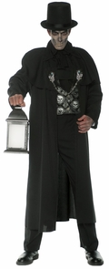 Early Mourning Adult Coat Costume