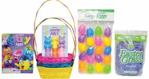 Easter Basket Bu/yw/pk Kit Costume