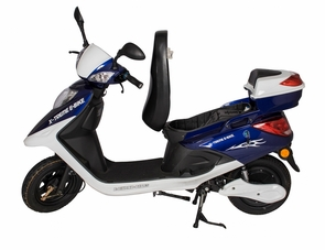 Electric Bicycle Moped W/600 Watt Brushless Motor -No Registration Or License Needed
