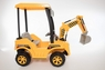 Magic Cars® Excavator Ride On Construction Truck Bulldozer W/Working Digging Arm