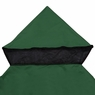 Gazebo Canopy Top Replacement Outdoor Garden Sunshade Cover Dual-tier One-tier 10'x10' Dual-tier, Green