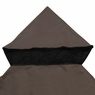 Gazebo Canopy Top Replacement Outdoor Garden Sunshade Cover Dual-tier One-tier 9.7'x9.7' Dual-tier, Ivory