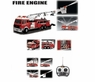 HUGE Remote Control (RC) Fire Truck Shoots Water W/Ladder