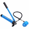 Hydraulic Knockout Punch Driver Kit Hand Pump Hole Case Tool 11 Gauge 15 9 6 Ton 9Ton Blue