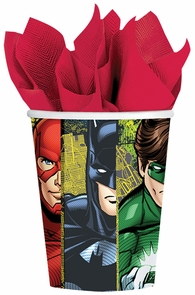 Justice League 9 Oz Cup 8 Pack Costume