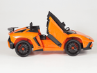 Magic Cars� Lamborghini 2 Seater Kids Ride On RC Aventador Car Roadster W/Opening Doors Leather Seat And Custom License Plate