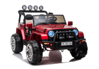 Magic Cars® 24 Volt 2 Seater Ride On Truck Big Jeep Style Electric Real 4 X 4 Animal SUV RC For Kids W/Leather Seats And Stereo