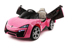 Lykan Style Hypersport 12 Volt Pink Ride On Car Fast & Furious W/Magic Cars� Parental Control Exotic Sports Car