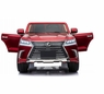 Lexus 2 Seater BIG Class LX 570 Ride On Car Magic Cars® SUV Truck W/TV Screen Bumper To Bumper Warranty