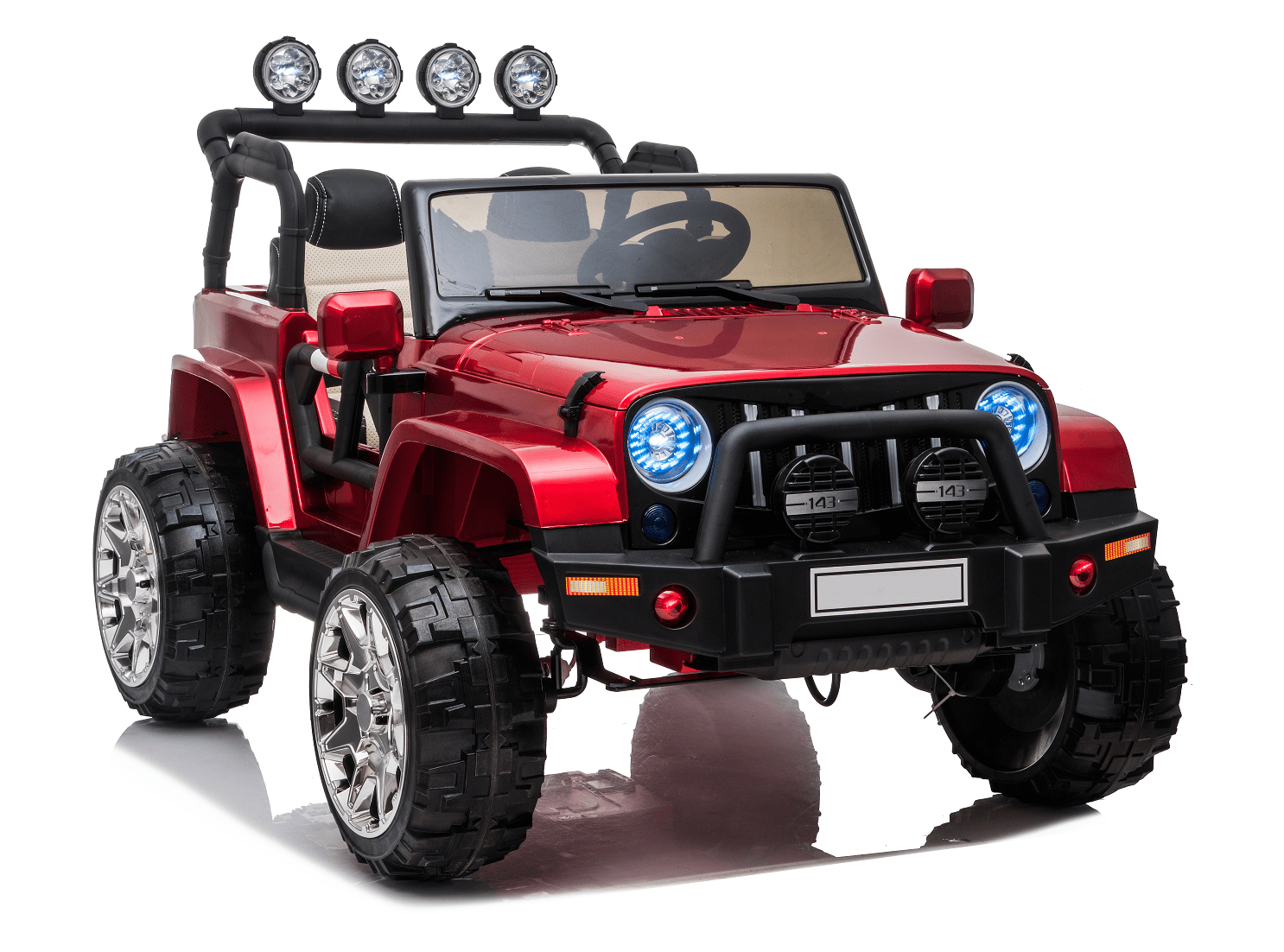 Magic Cars 2 Seater Big Class Ride On Rc Jeep Style 24 Volt Kid S Car