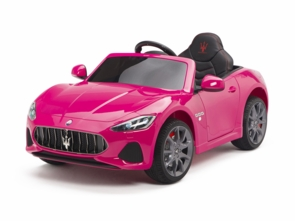 Magic Cars® Maserati Ride On Remote Parental Control RC Car With Custom License Plate