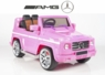 Magic Cars® My Pink Electric Mercedes G55 RC Ride On Car For Children