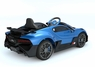 Magic Cars® Ride On Bugatti For Children W/Working Stereo Horn Twin Motors