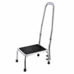 Medical Step Footstool W/ Handle & Non Skid Rubber Platform 500lbs Weight Limit