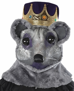 Mouse King W Crown Purple Red Costume