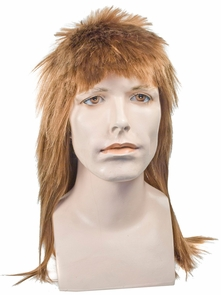 Mullet Long Straw Bl 27 Costume