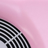 Nail Dust Collector Manicure Pedicure Drill Art Suction Fan w/LED Indicator Pink