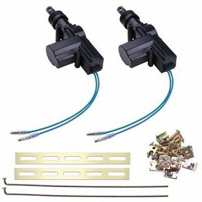 New 2 Universal Power Central Lock Kit 2 Wire Actuator Kit For Auto Car Vehicle