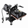 "PNR? 5in1 12x15"" LCD Heat Press Machine T-Shirt Hat Summer Sublimation Transfer"